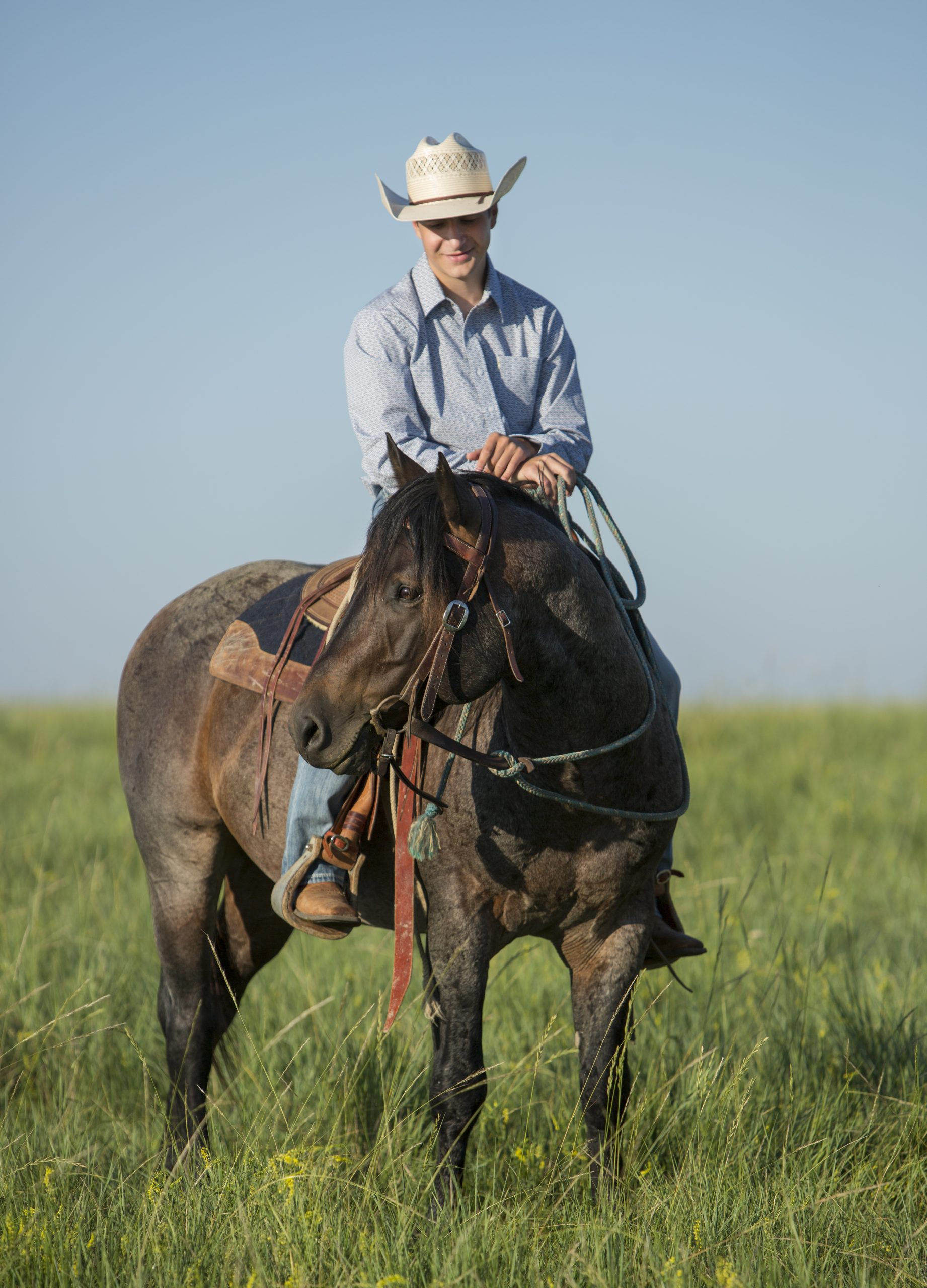 ty ducheneaux, the dx ranch, the ranch crew, shot for western horseman by kate byars, dx chaching