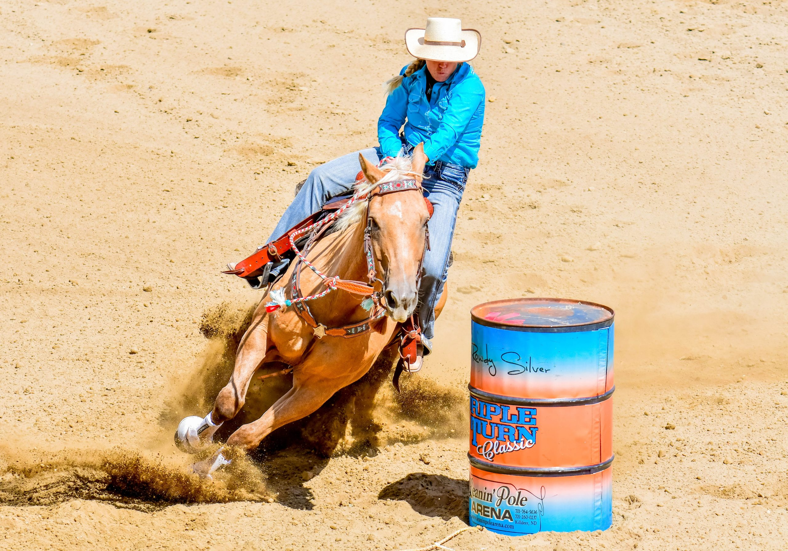 jenn zeller, dx ranch crew, barrel racing